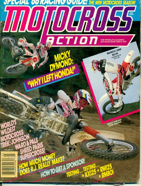 A Look Back at 1988 Through the Eyes of Motocross Action – PulpMX