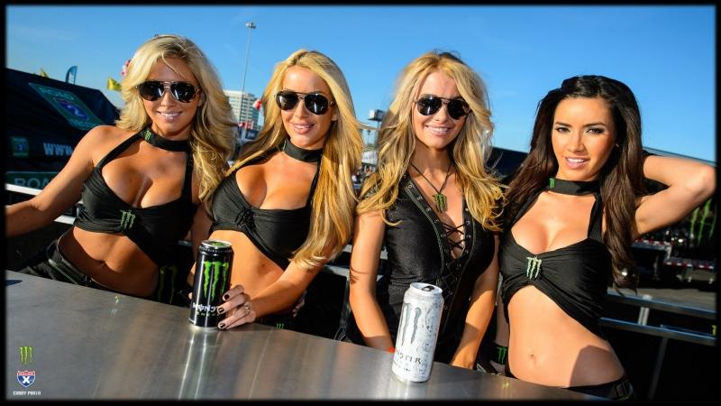 Supercross girls energy rockstar
