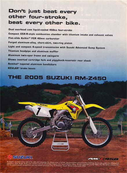 GP's Classic Steel #86: 05 RMZ450 – PulpMX