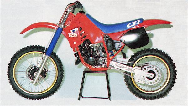 GP S Classic Steel 95 87 CR125 PulpMX