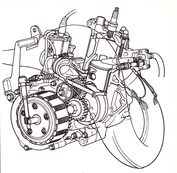 125cc 2 stroke engine