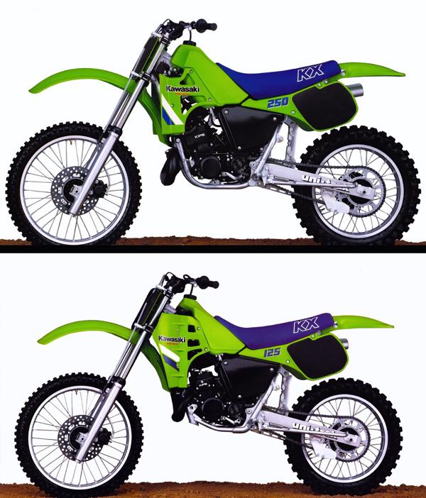 1995 kawasaki 80 dirt bike