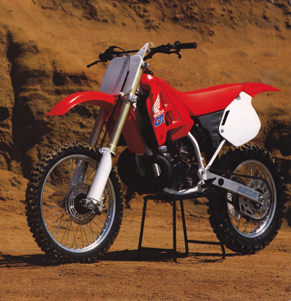 Gp U2019s Classic Steel  110  1990 Cr250  U2013 Pulpmx