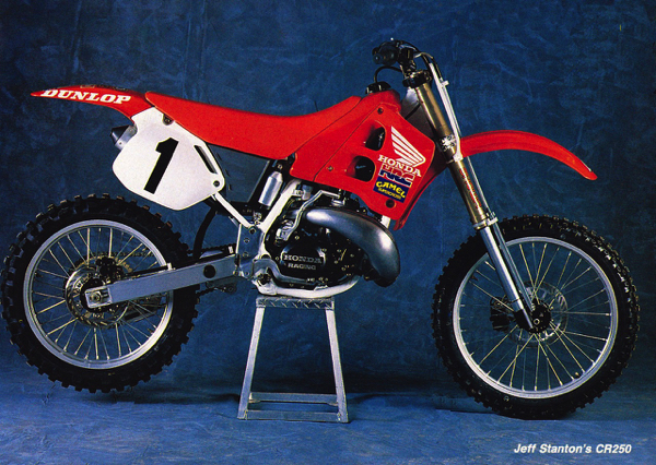 Gp's Classic Steel 110 1990 Cr250 Pulpmx. Visually Jeff Stanton's 1990 Factory Honda Did Not Differ Greatly From The Stock Cr250r After Passing Of Production Rule In 1986 Factories. Honda. Honda Cr 250 Engine Diagram At Scoala.co
