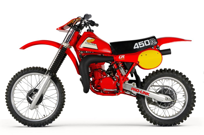 1981 1982 Honda CR125 Elsinore Number Plate Background Decals