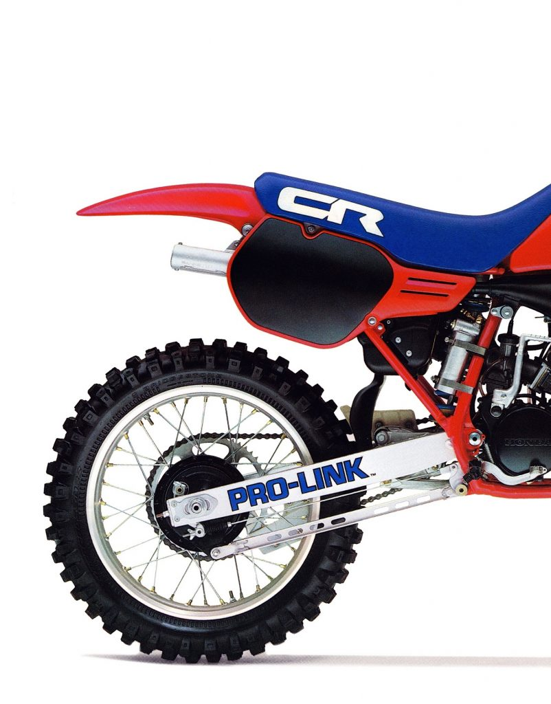 Classic Steel 130 1985 Cr125 Pulpmx 1970 Honda 125 Dirt Bike The Rear Suspension On 85 Cr125r Was Not Nearly As Effective Front When New It Hopped Kicked And Generally Did A Pretty Bad Job Of Absorbing