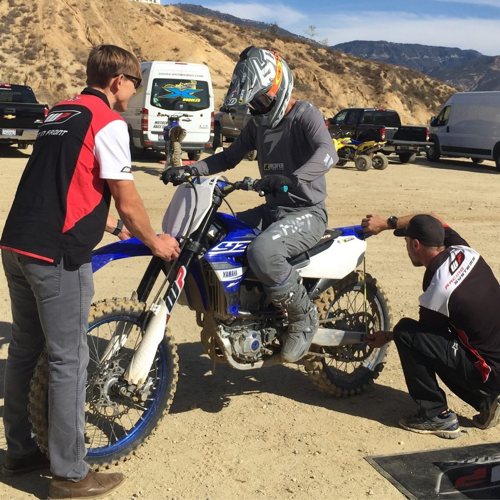 Keefer Tested: WP Cone Valve Forks/Trax Shock for YZ450F – PulpMX