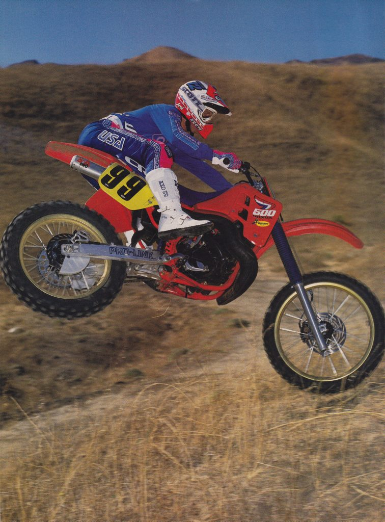 "Maxxis Tires"" – Classic Steel #135 1987 Honda CR500R – PulpMX"