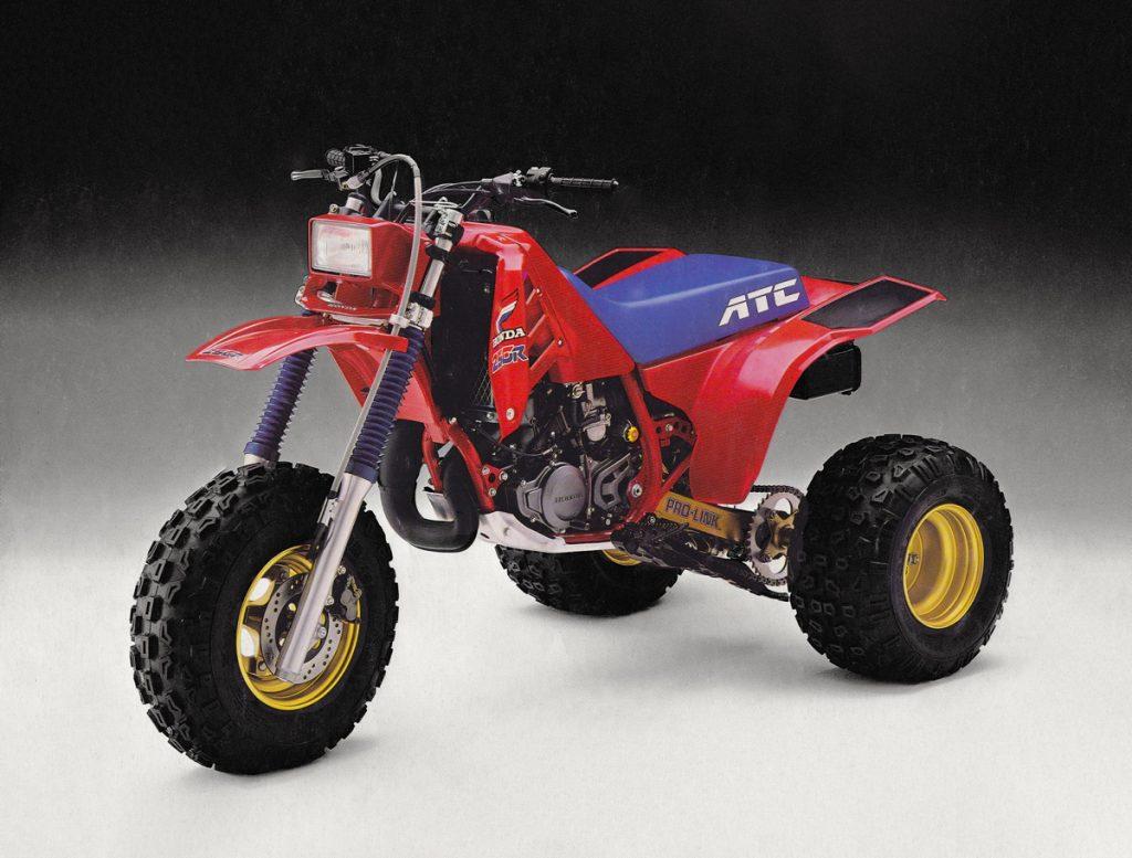 Honda 1986 86 85 ATC ATC250R 1986 Headlight Decals 250R ATC