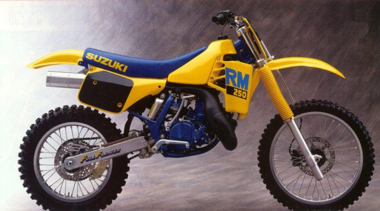 classic steel #79- 1988 suzuki rm 250