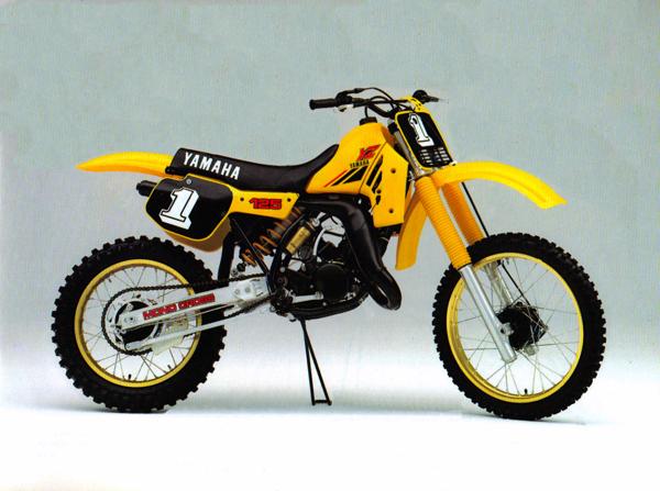 Gp S Classic Steel 117 1984 Yamaha Yz125 Pulpmx